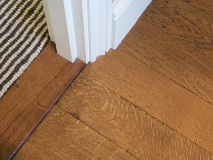 Wooden flooring, Quartersawn Oak - Parquet Strip