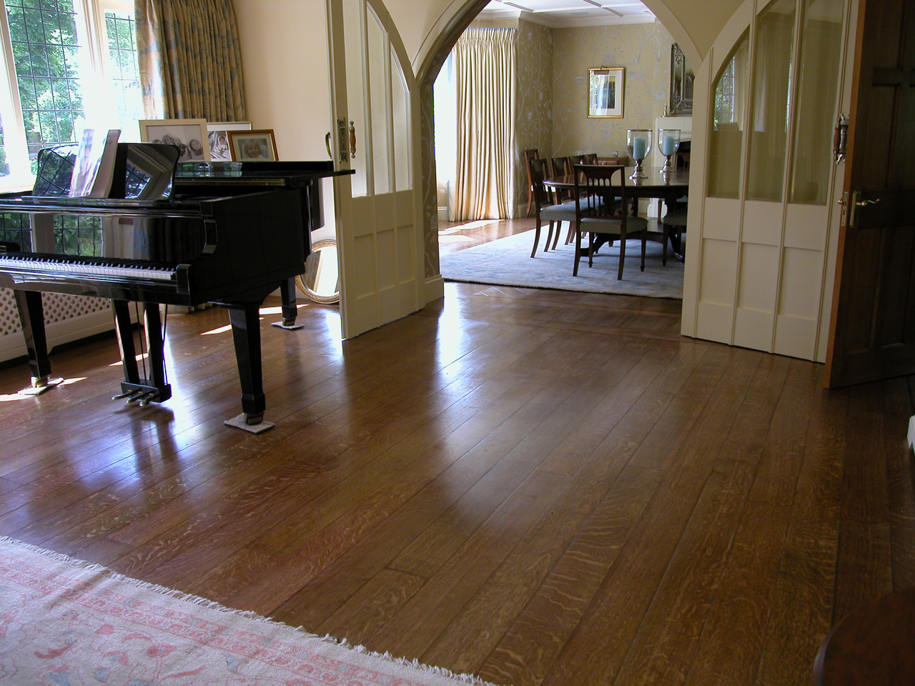 Contact Us about wooden flooring