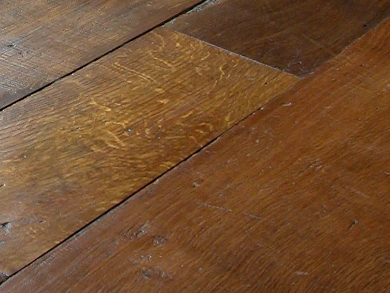 Original face antique oak panels and planks essex for Wood floor quality grades