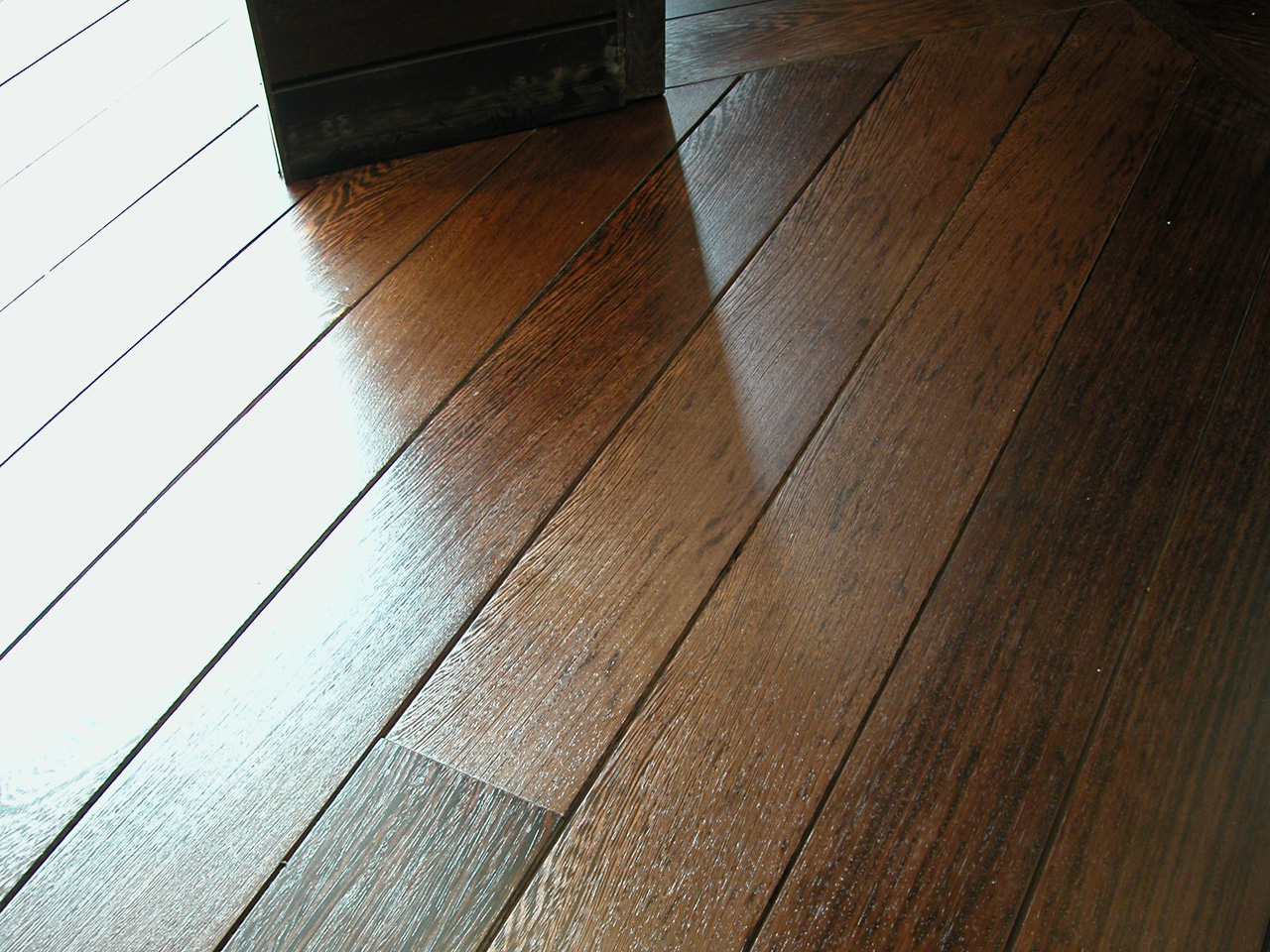Wooden flooring, Wenge Strip